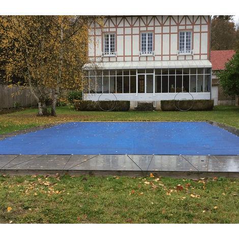 Nappe perméable pour piscine en hivernage actif 4.5 x 8.5 m