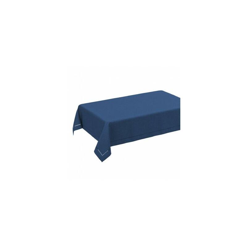 Nappe Rectangulaire Bleu Foncé - 210x150cm - Bleu