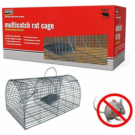 Nasse piege a rat multiprises - Alu