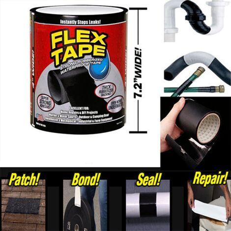 Nastro Adesivo Flex Tape resistente e impermeabile 18x6.5cm