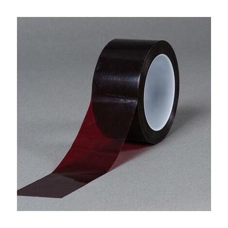Nastro adesivo litografico 3M 616 19 mm x 66 m x 0,7 mm rosso rubino prove strappo verniciatura packaging cosmetica