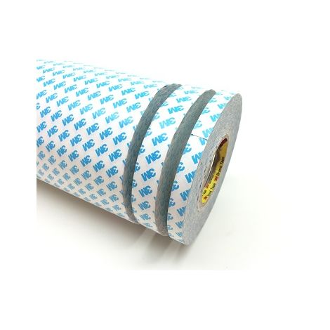 Nastro biadesivo acrilico in tessuto non tessuto TNT 3M 90080 145 mm x 50 m x 0,16 mm