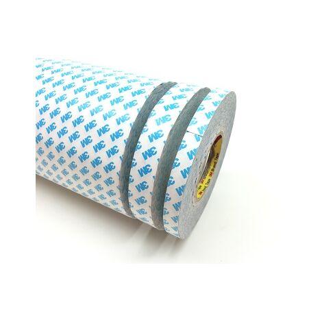 Nastro biadesivo acrilico in tessuto non tessuto TNT 3M 90080 6 mm x 50 m x 0,16 mm