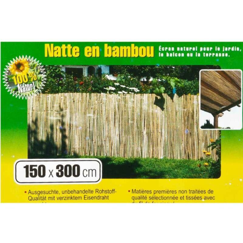 Natte Brise Vue Bambou 15x3m