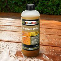 NATUR Holzschutz LEINÖL- FIRNIS 1 L Holzöl Leinölfirnis Holz Möbel Lasur