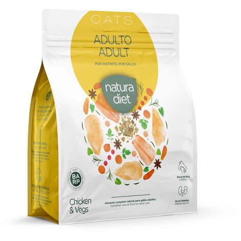 Natura Diet - Croquettes Adult Poulet pour Chat - 400g