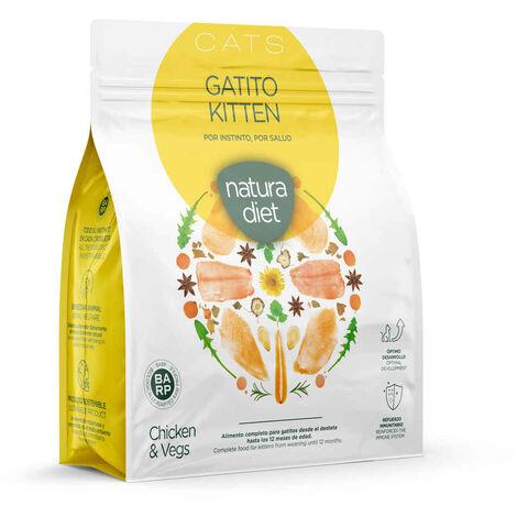 Natura Diet - Croquettes Kitten Poulet pour Chaton - 400g