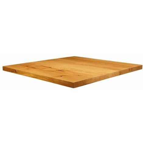 Natura Lacquered Character Oak - 70cm x 70cm (Square)
