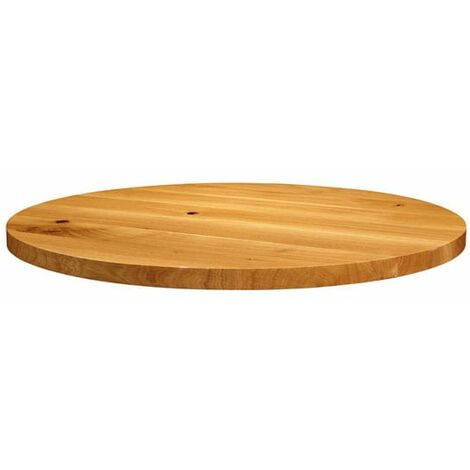 Natura Lacquered Character Oak - 75cm dia (Round)