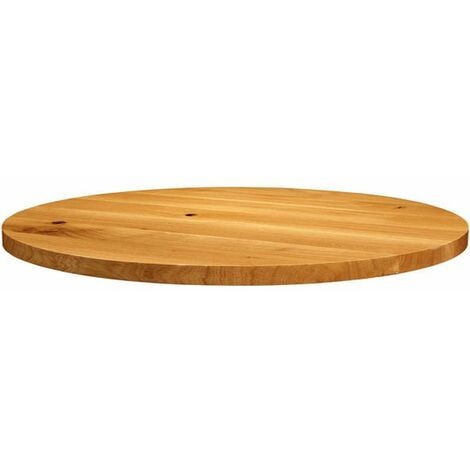 Natura Lacquered Character Oak - 90cm dia (Round)