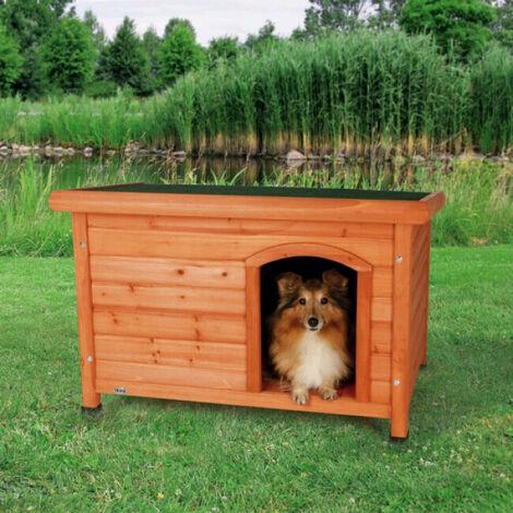 natura niche à toit plat pour chiens : × ×