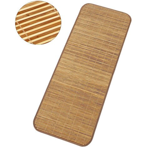 """main image of """"Natural Bamboo Mat Summer Mat Summer Cool Bed Cover for Student Dormitory Beauty Salon 90*190CM,model:Bamboo 190x90cm"""""""