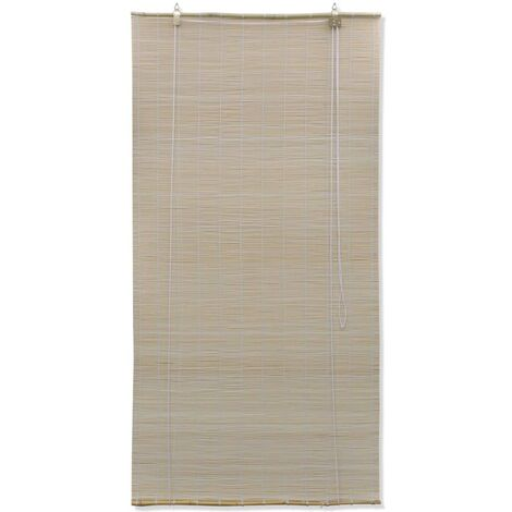 Natural Bamboo Roller Blinds 100 x 160 cm QAH08682