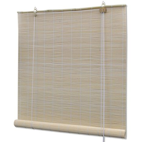 Natural Bamboo Roller Blinds 120 x 160 cm VD08683