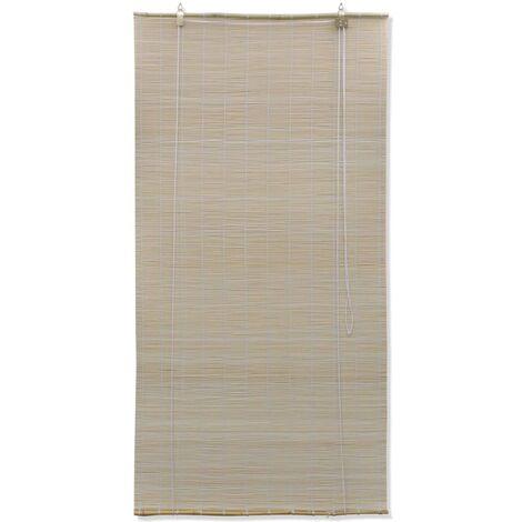 Natural Bamboo Roller Blinds 120 x 220 cm QAH08684