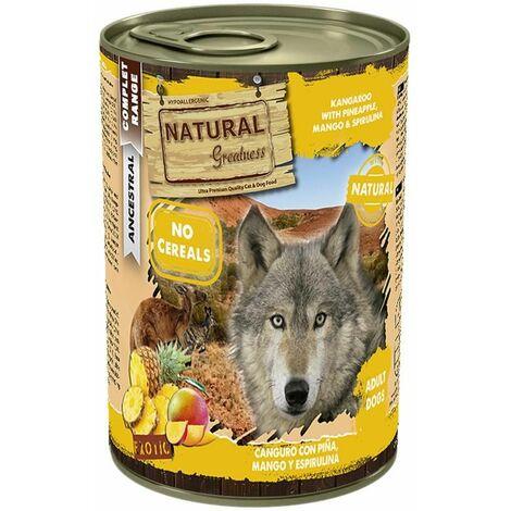 Natural Greatness canguro con piña y mango 400 g
