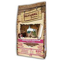 Natural Greatness Pienso seco para Gatos Receta Sensitive Indoor. Super Premium- Adult Cat- Todas Las Razas- 6 kg