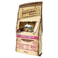 Natural Greatness Pienso seco para Gatos Receta Sensitive Indoor. Super Premium- Adult Cat- Todas Las Razas- 600 g