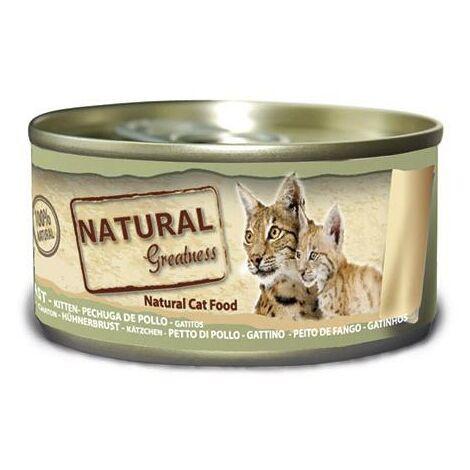 Natural Greatness Pollo para gatos junior 70 g