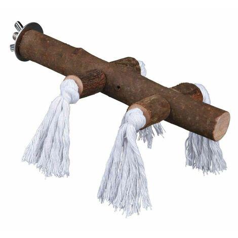 Natural Living perchoir avec corde, 25 cm/ø 25 mm - 5889