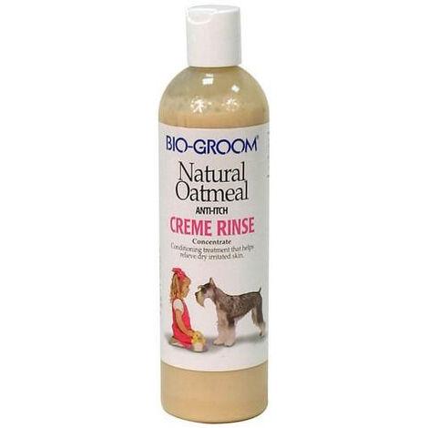 Natural Oatmeal - Crème de rinçage pour chien et chat - Bio Groom Désignation : Natural Oatmeal - Crème de rinçage | Conditionnement : 355 ml Bio Groom 452119