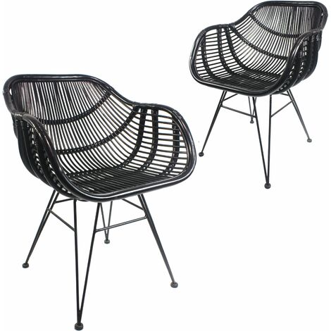 Natural Rattan Bodan Dining Chair, W54xD58xH80 cm - Natural