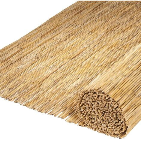 Nature 2 pcs Garden Screenings Bamboo Reed 500x100 cm
