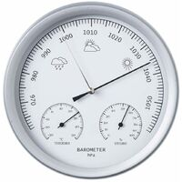 Nature 3-in-1 Barometer with Thermometer and Hygrometer 20 cm 6080081