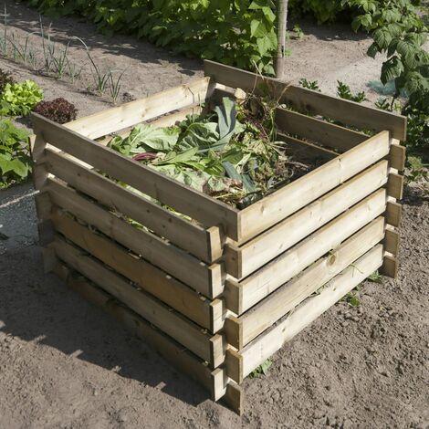 Nature Bac à compost Bois FSC 650 L 6070480