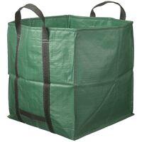 Nature bolsa cuadrada para desechos de jardín 252 L verde 6072405