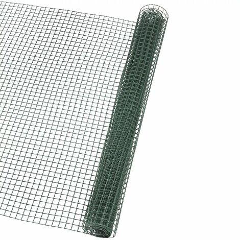 Nature Brise-vue en maille carré 10x10 mm 1x3 m Vert