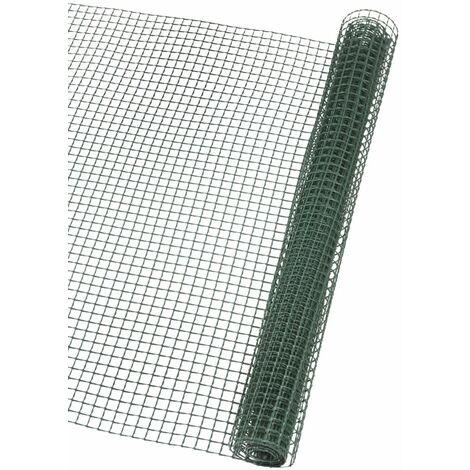 Nature Brise-vue en maille carré 20x20 mm 1x3 m Vert