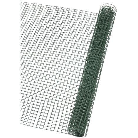 Nature Brise-vue en maille carré 5x5 mm 1x3 m Vert