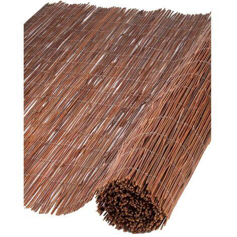 Nature Brise-vue en saule 1 x 5 m 6050170