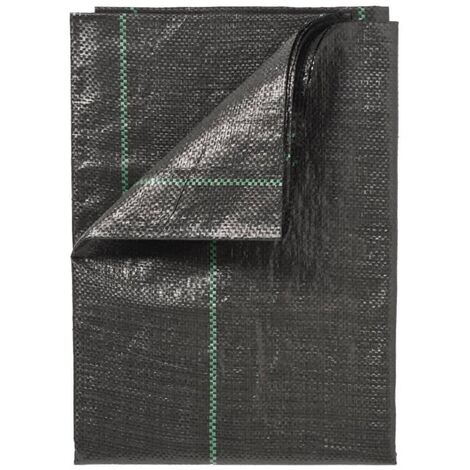 Nature Cubierta de suelo antimaleza negro 1x25 m