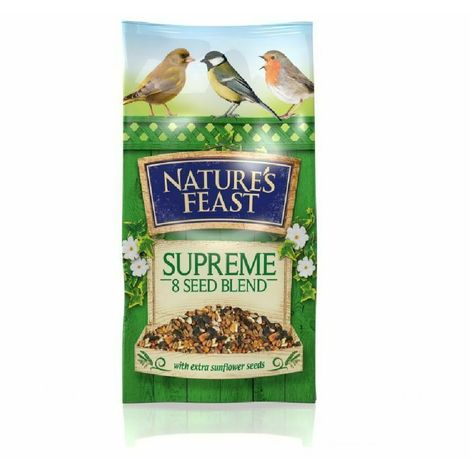 Nature Feast Supreme 8 Seed Blend (1kg) (May Vary)