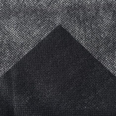 Nature Film de couverture de sol 1 x 10 m Noir 6030228