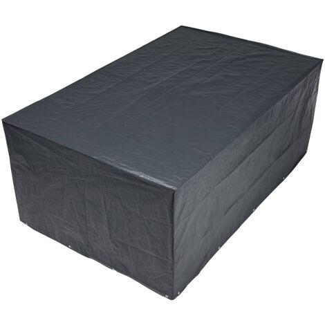 Nature Funda de muebles de jardín para mesa rectangular 170x130x70 cm - Gris