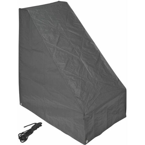 Nature Garden Cover for Lawn mower 103x90x152 cm - Grey