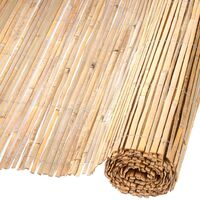 Nature Garden Fence Bamboo Natural 1.5x5 m 6050121