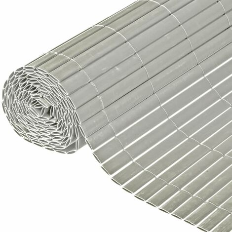 Nature Garden Fence Double Sided Grey 1.2x3 m 6050376
