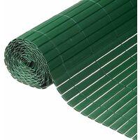 Nature Garden Fence Screen 1x3 m PVC Green 6050335