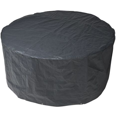 Nature Garden Furniture Cover for Round tables 205x205x90 cm - Black