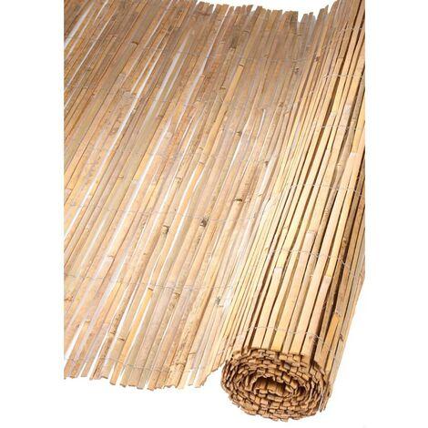 Nature Garden Screen Bamboo 1x5 m - Beige