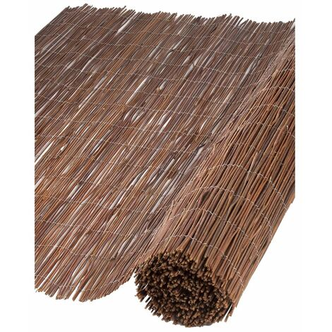 Nature Garden Screen Willow 1.5x3 m 10 mm Thick - Brown