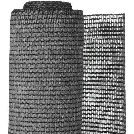 Nature Garden Sight Break Fencing PE 1.5x5m Anthracite - Grey