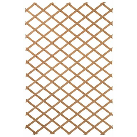 Nature Garden Trellis 100x200 cm Wood Natural 6041703