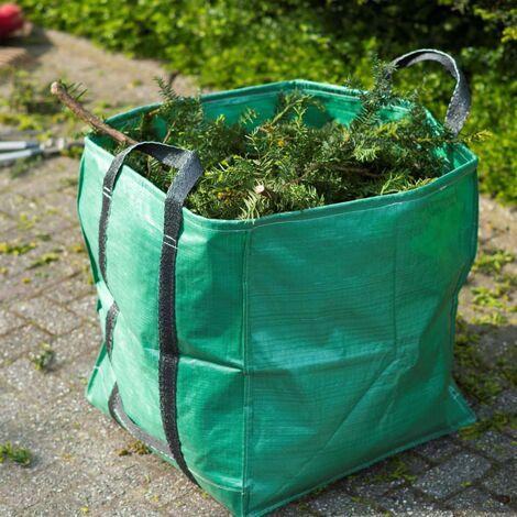 Nature Garden Waste Bag Square Green 148 L - Green