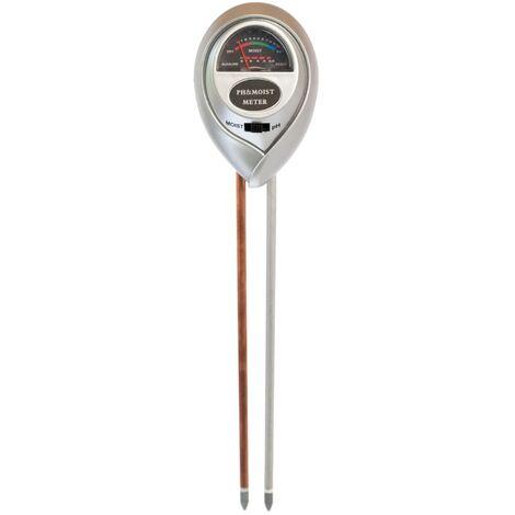 Nature Hygromètre et pH-mètre 6x3,8x26 cm
