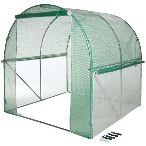 Nature Invernadero túnel 200x200x200 cm - Trasparente
